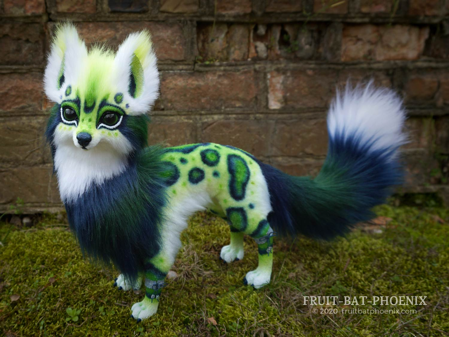 Blue-Green Spotted Fox